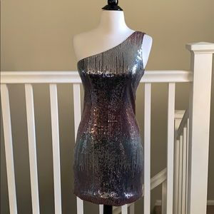 As U Wish Nordstrom sequin party dress size Small